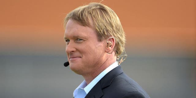 Jon Gruden coached the Buccaneers to their only Super Bowl title. (Kirby Lee-USA TODAY Sports)