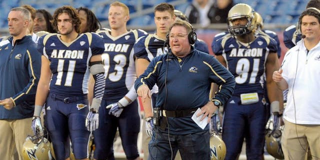 Terry Bowden was recently let go from Akron.