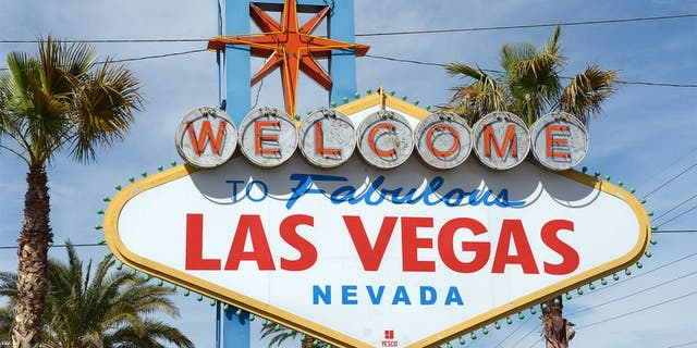 """Mar 15, 2013; Las Vegas, NV, USA; General view of the """"Welcome to Fabulous Las Vegas, Nevada"""" sign on Las Vegas Blvd. Mandatory Credit: Kirby Lee-USA TODAY Sports"""