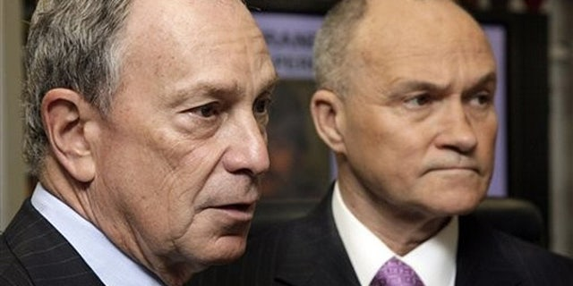 May 5: New York Mayor Michael Bloomberg, left, and Police Commissioner Raymond Kelly in New York.