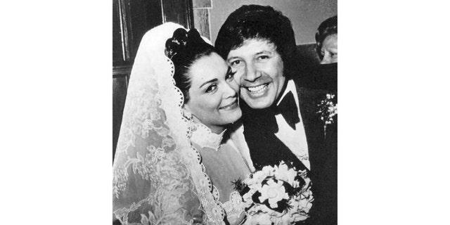 Connie Francis with husband number two.