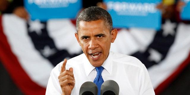 Sept. 27, 2012: President Obama at a rally in Virginia Beach, Va.