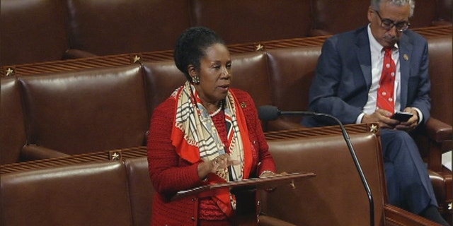 Sept. 28, 2016: Rep. Sheila Jackson Lee speaks on the House floor.
