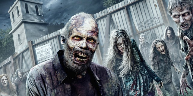 The Walking Dead AMC Haunted House