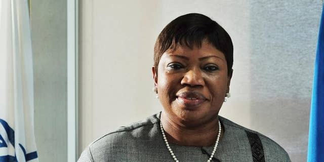 """The International Criminal Court's prosecutor Fatou Bensouda poses for a picture during an interview in The Hague, Netherlands, Tuesday, Nov. 22, 2016. Bensouda says it is a """"regression"""" for African nations, including her own home country of Gambia, to quit the court and says the continent should work together with her office to end impunity for atrocities. (AP Photo/Mike Corder)"""