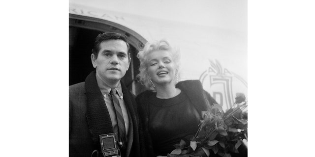 "Milton H. Greene (left) with Marilyn Monroe. Taken from the book ""The Essential Marilyn Monroe,"" published by ACC Editions."