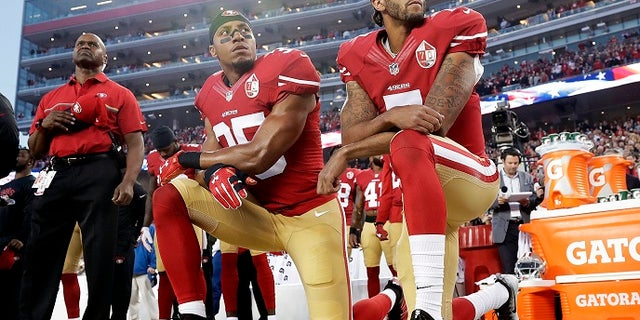 Colin Kaepernick started kneeling during the national anthem to protest police violence.