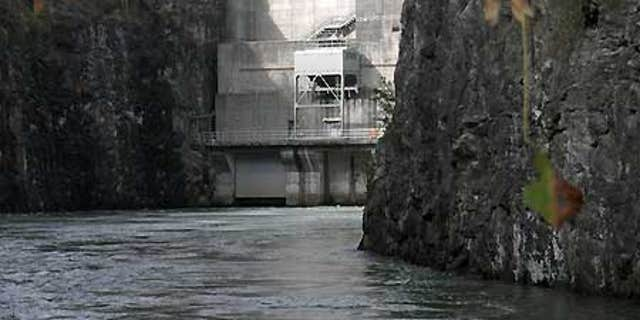 The Buford Dam on Georgia's Lake Lanier, font of a ongoing dispute between the governors of Florida, Alabama and Georgia.