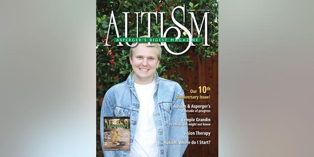 On the Cover: Nick appeared in the premiere issue of Autism Asperger's Digest, November 1999.