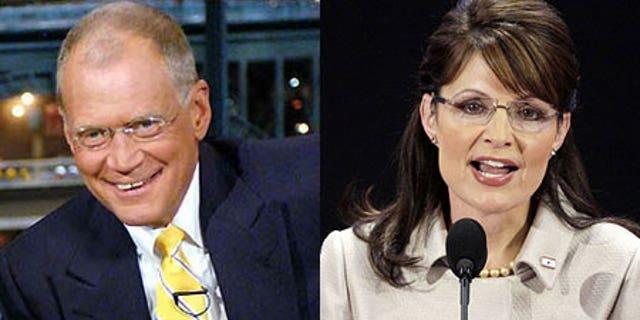 David Letterman and Gov. Sarah Palin