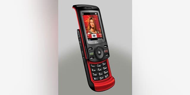 Virgin Mobile's 'Shuttle' phone, made by UTStarcom.