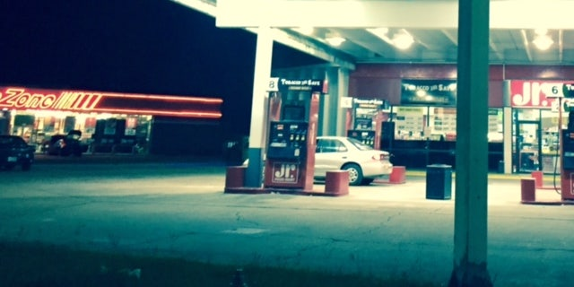 The Texaco station in Petal, Mississippi.