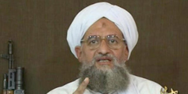 A video still of Ayman al-Zawahiri, the current leader of Al Qaeda.