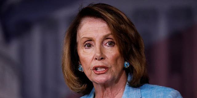 House Minority Leader Nancy Pelosi speaks about the recent attack on the Republican Congressional Baseball team during her weekly press conference on Capitol Hill in Washington, U.S., June 15, 2017. REUTERS/Aaron P. Bernstein - RC181A9DEA30