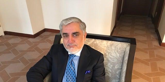 Afghan Chief Executive Abdullah Abdullah.