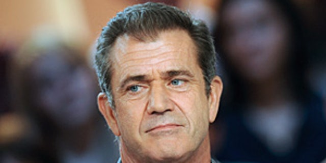 """US actor Mel Gibson attends the TV broadcast show """"Le Grand Journal"""" on Canal + channel on February 3, 2010 in Paris. Gibson presented """"Hors de Controle"""" (Out of Control) movie by Martin Campbell. AFP PHOTO BERTRAND LANGLOIS (Photo credit should read BERTRAND LANGLOIS/AFP/Getty Images)"""