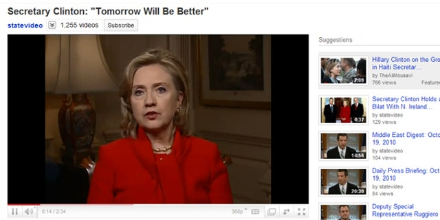Oct. 19: In a message posted on YouTube, U.S. Sec. of State Hillary Clinton said she was saddened by recent suicides by young people who were bullied for being gay, or because people thought they were gay.