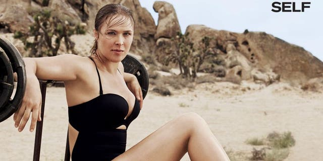 Ronda Rousey Self courtesy of SELF Magazine/Photographer: Jason Kibbler
