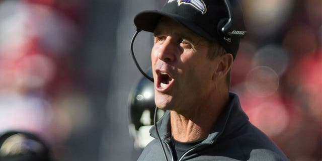 Ravens coach John Harbaugh voiced frustration after Sunday's loss to Cincinnati.