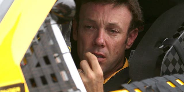 TALLADEGA, AL - OCTOBER 24: Matt Kenseth, driver of the #20 DeWalt Toyota, sits in his car during qualifying for the NASCAR Sprint Cup Series CampingWorld.com 500 at Talladega Superspeedway on October 24, 2015 in Talladega, Alabama. (Photo by Chris Graythen/NASCAR via Getty Images)