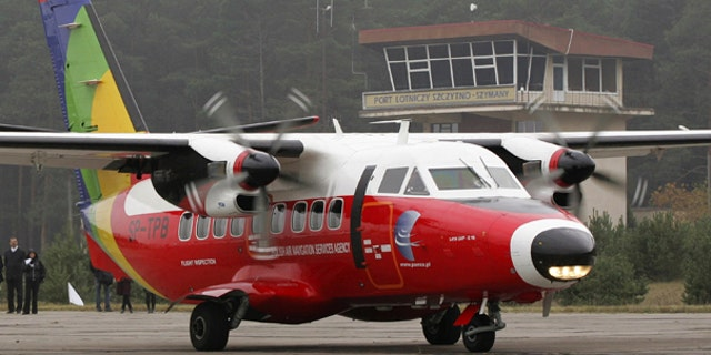 Oct. 19: A small plane taxis at the airport in Szymany, Poland. Lawyers and rights activists believe that this was the airport used to ferry terrorism suspects in and out of Poland when the CIA ran a secret prison in the eastern European country.