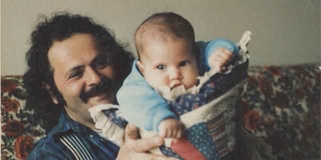 Benjamin Risha and his father.