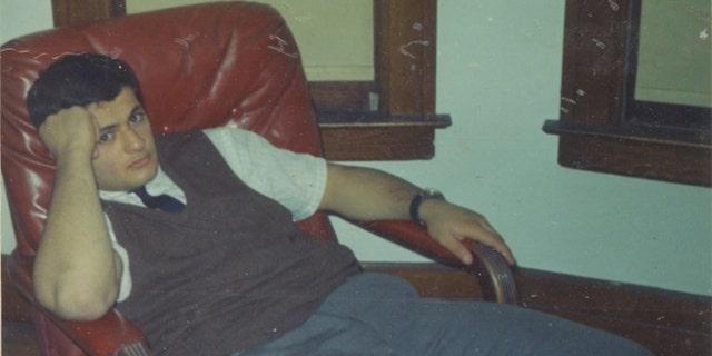 A young Benjamin Risha.