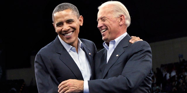 Oct. 31: President Barack Obama and Vice President Joe Biden make a final get-out-the-vote push for Democratic candidates during a rally at Cleveland State University in Cleveland.