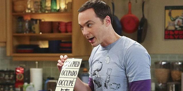 Sheldon Cooper (Jim Parsons) on 'The Big Bang Theory' (Michael Ansell/Warner Bros. Entertainment Inc.)