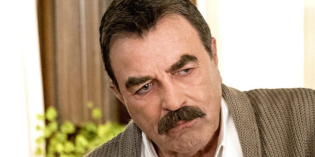 Tom Selleck as Frank Reagan on 'Blue Bloods'