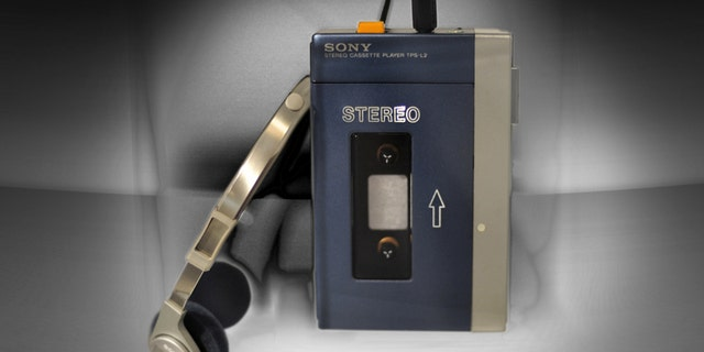 Sony Corp.'s first Walksman is shown at a special display commemorating the Walkman's 30th anniversary that opens Wednesday, July 1, 2009, at Sony Archive building  in Tokyo, Japan.