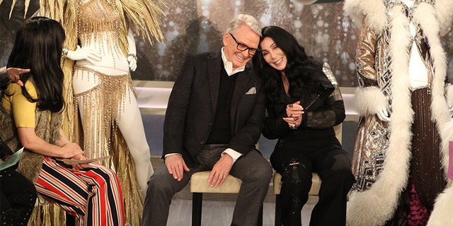 Bob Mackie with Cher today.