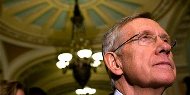 Senate Majority Leader Harry Reid is seen on Capitol Hill in Washington Nov. 3. (AP)