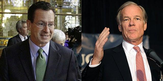 Nov. 3: Democrat Dan Malloy, left, and Republican Tom Foley, both candidates for Connecticut governor.