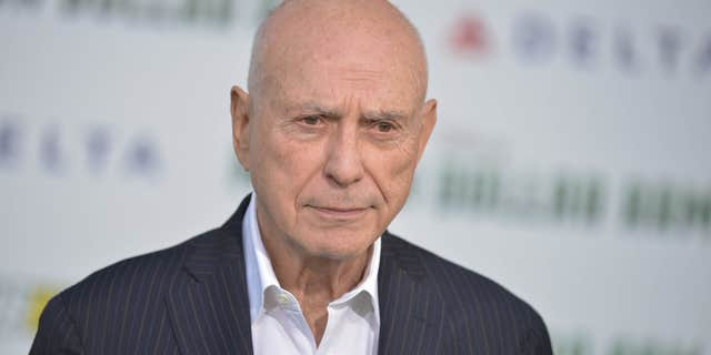 "FILE - In this May 6, 2014 file photo, Alan Arkin arrives at the world premiere of ""Million Dollar Arm"" in Los Angeles."