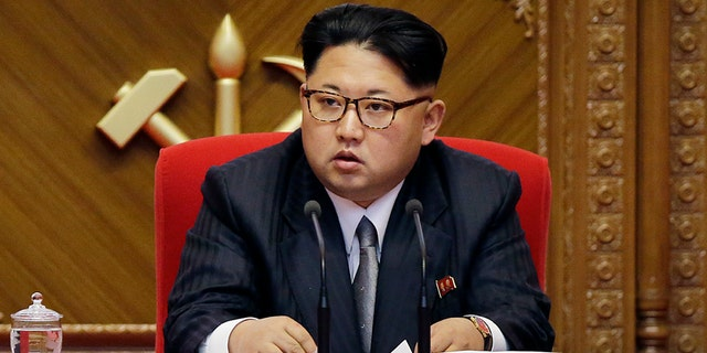 May 9, 2016: North Korean leader Kim Jong Un listens during the party congress in Pyongyang, North Korea.