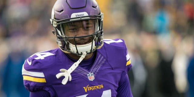 """Nov 22, 2015; Minneapolis, MN, USA; Minnesota Vikings wide receiver Stefon Diggs (14) against the Green Bay Packers at TCF Bank Stadium. The Minnesota Vikings have fined Stefon Diggs more than $200,000 for unexcused absences from practices and meetings, ESPN's Chris Mortensen reports.<br data-cke-eol=""""1""""> Mandatory Credit: Brace Hemmelgarn-USA TODAY Sports"""