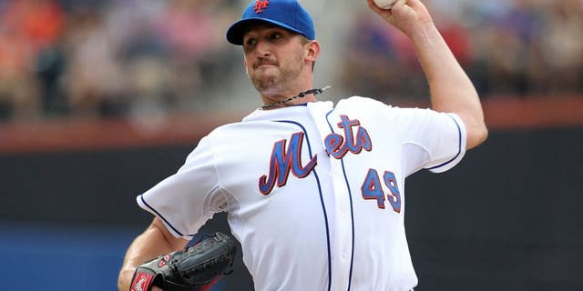 NEW YORK, NY - JULY 16: Jonathon Niese #49 of the New York Mets pitches against of the Philadelphia Phillies at Citi Field on July 16, 2011 in the Flushing neighborhood of the Queens borough of New York City. (Photo by Nick Laham/Getty Images)