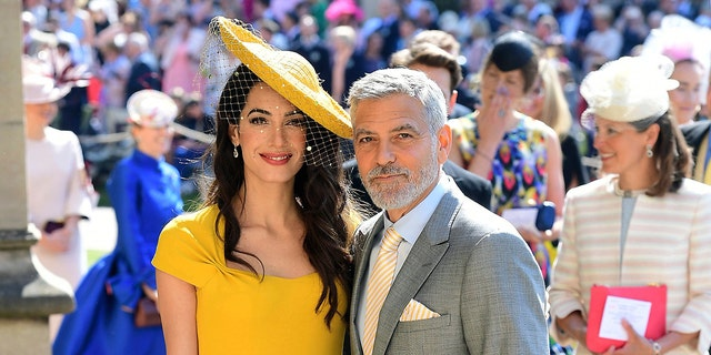 Amal Clooney's bright yellow dress was compared to a can of pineapple margarita.