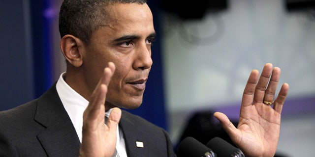 Dec. 7: President Obama defends his tax cuts deal with Republicans at a news conference at the White House.