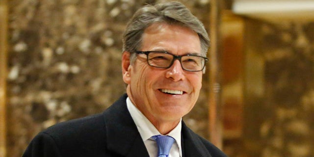 The tweet stemmed from the news that Trump would nominate Rick Perry to lead the Dept. of Energy.