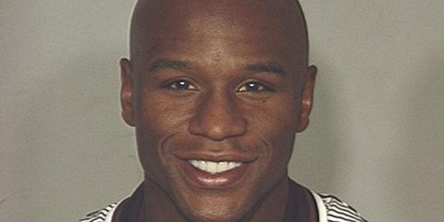 Sept. 10: Boxer Floyd Mayweather Jr. is shown in this mug shot released by the Las Vegas Metropolitan Police Department.