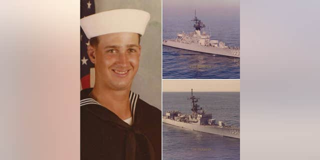 A photo of Rod Boyle while he served in the U.S. Navy from 1981 to 2001. (Rod Boyle)