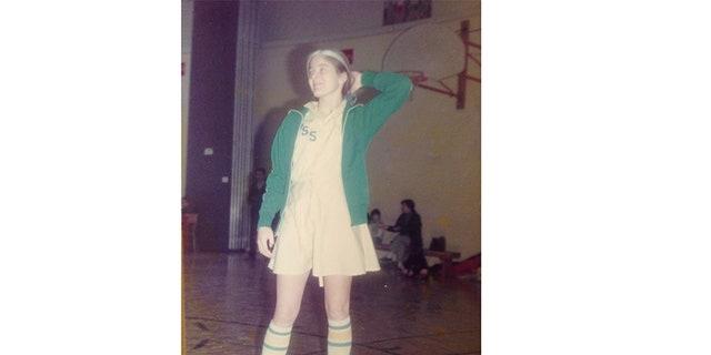 Tina Alexis Allen at age 12.