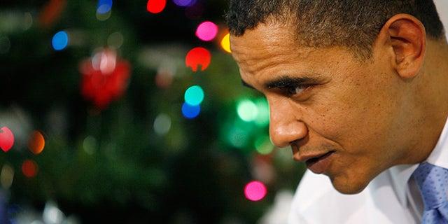 De. 21: President Obama visits a Boys and Girls Club in Washington. (AP)
