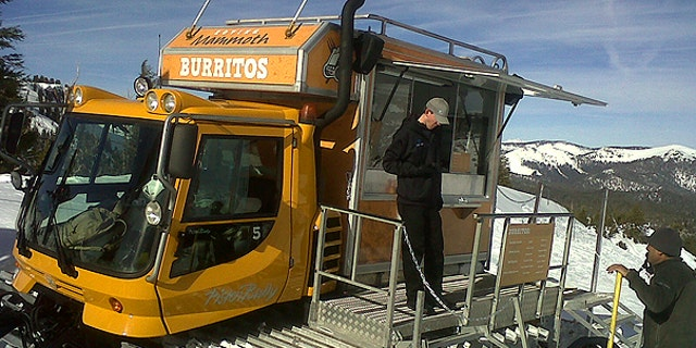 Southern California's Mammouth Mountain ski area converted an old snow-cat named Igor to serve up tacos to hungry visitors.