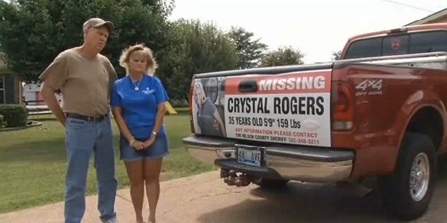 Crystal Rogers' parents, Tommy and Sherry Ballard, in an undated image.