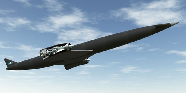 The Sabre engine revealed in the Skylon plane.
