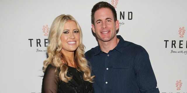 "MIAMI BEACH, FL - MARCH 12:  Christina El Moussa and Tarek El Moussa of HGTV's ""Flip or Flop"", new North American brand ambassador, attend the TREND Group and Granite Transformations global rebranding and ""Immense"" product collection launch event at Temple House on March 12, 2016 in Miami Beach, Florida.  (Photo by Alexander Tamargo/Getty Images)"