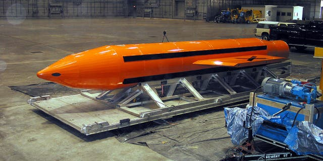 The Massive Ordinance Air Blast was first tested in 2003.